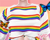 🦋 rainbow tshirt