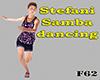Stefani samba dancing