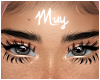 Bottom lashes dramatic