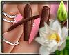 (LN)Brownie Nails