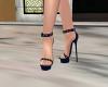 Elegant Navy Blue Heels