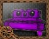 """"""" Forsaken Purple Sofa """""""