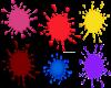 *J* Kids Paint Splatters