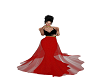 Black /Red/Gold Gown