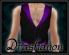 ~D~ Black n Purple Vest