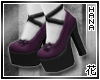 [T] Purple Lolita Shoes