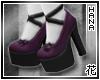 [T] Purple Lolita Shoes