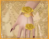 Gold Rose Hands Elder
