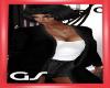 GS Black Long Cardigan