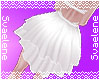White Strapped Bustle