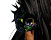 rainbow rave mask