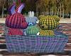 Cute Toys in Basket