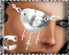 CcC eyepatch CROSS silve