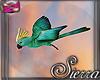 ;) Island Bird Green