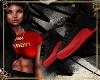 *0nei* Jordans Red/Black