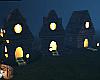 Halloween Cottages Fille