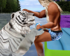 Tiger and Pool Float