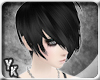 [YK] Emo Cruz black hair