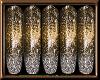 Sparkling BrownGold Nail