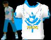 [LNR] Blue-N-White Shirt
