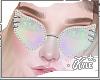 Holo Studded Glasses | F