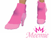 ~*~ Pink Ankle Boots ~