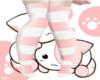 Pink Knee High Socks :D