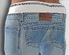 Calça jeans Larga