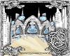 {E}Ice Blue Tiara