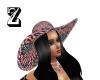 july 4 hat black hair