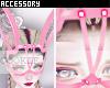 PinkLacedBunny Mask