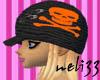Orange skull Scullie
