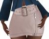 E* Leather skirt  RL