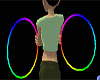 Rainbow Rave Hoops