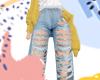 M - YYELLOW PANTS!!