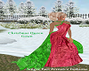 Christmas Queen gown