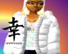 *~T~*White Puffy Coat