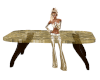 Table Gold Inlay