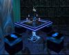 club table (Blue club)