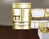 Golden Refrigerator