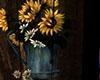 Sunflower Art on Wood