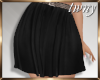 Belted Flirt Skirt Black