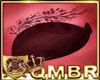 QMBR Hat Fascinator Wine