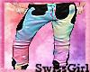 SG Pastel Goth Pants M
