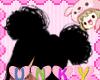 Kids Cutie Black Buns