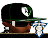 Blk/Grn KD Fitted Hat