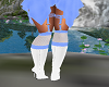 CuteNBabyBlue&White Boot