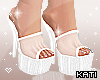 Clear Platforms White