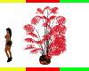 RED ANIMATED RASTA PLANT