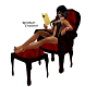 Vamp Reading Chair